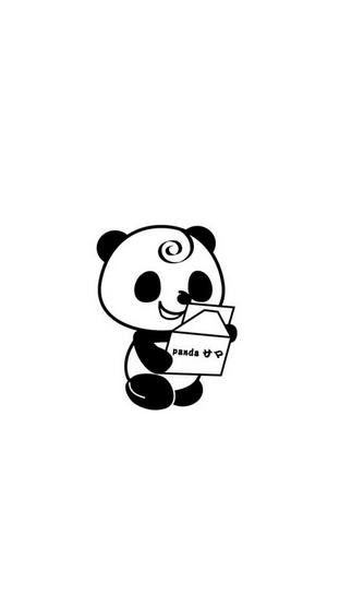这是一款以熊猫为主题的动态