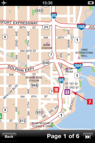 迈阿密(美国)地图 - 下载交通地图和旅游指南