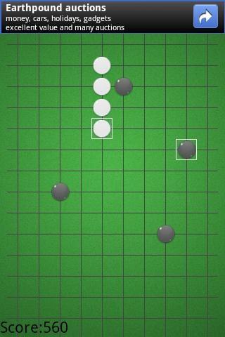传统五子棋的棋具与围棋相同,棋子分为黑白两色,棋盘为15×15,棋子图片