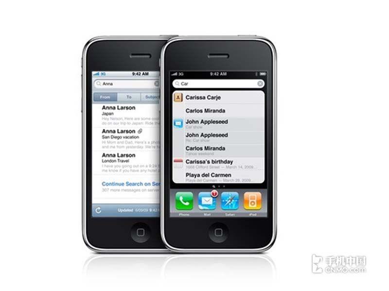 苹果iPhone3GS(8G)产品本身外观第2张