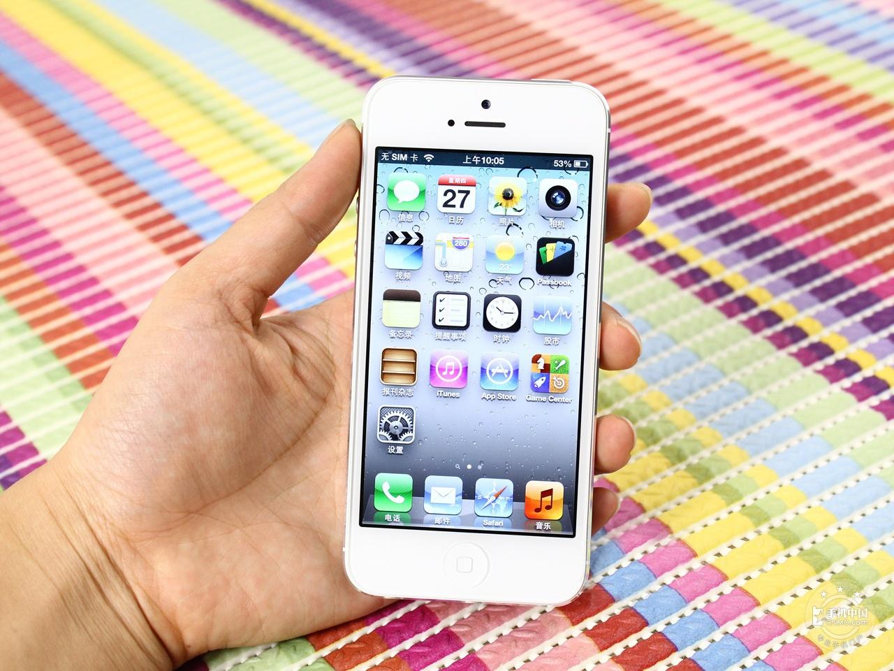 苹果iPhone5(联通版)整体外观第2张