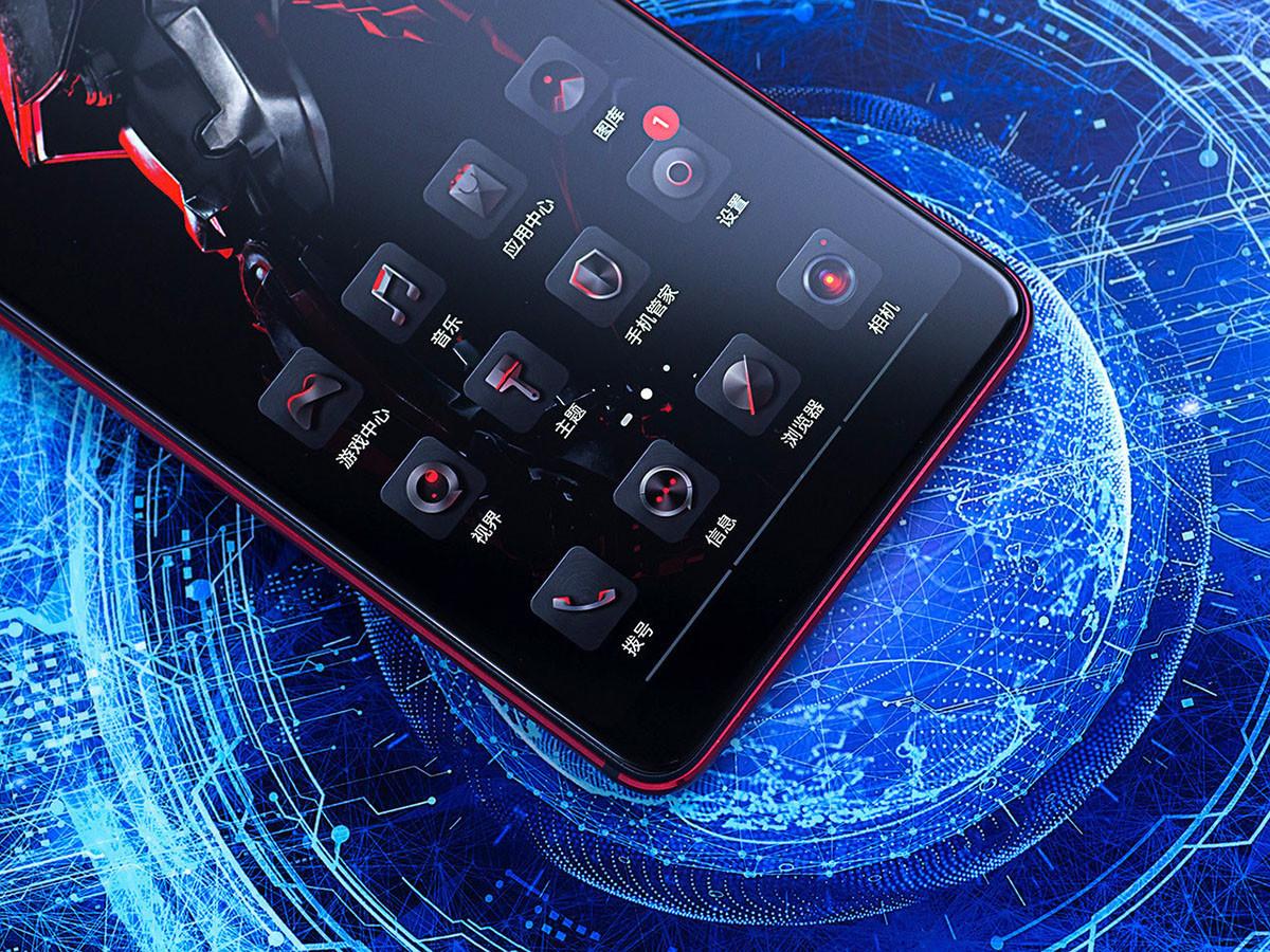 努比亚红魔Mars电竞手机(128GB)机身细节第2张