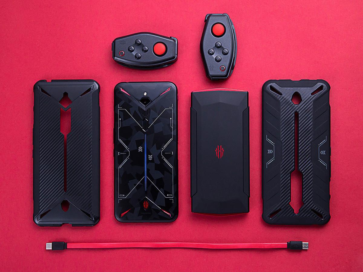 努比亚红魔3电竞手机(12+256GB)整体外观第3张