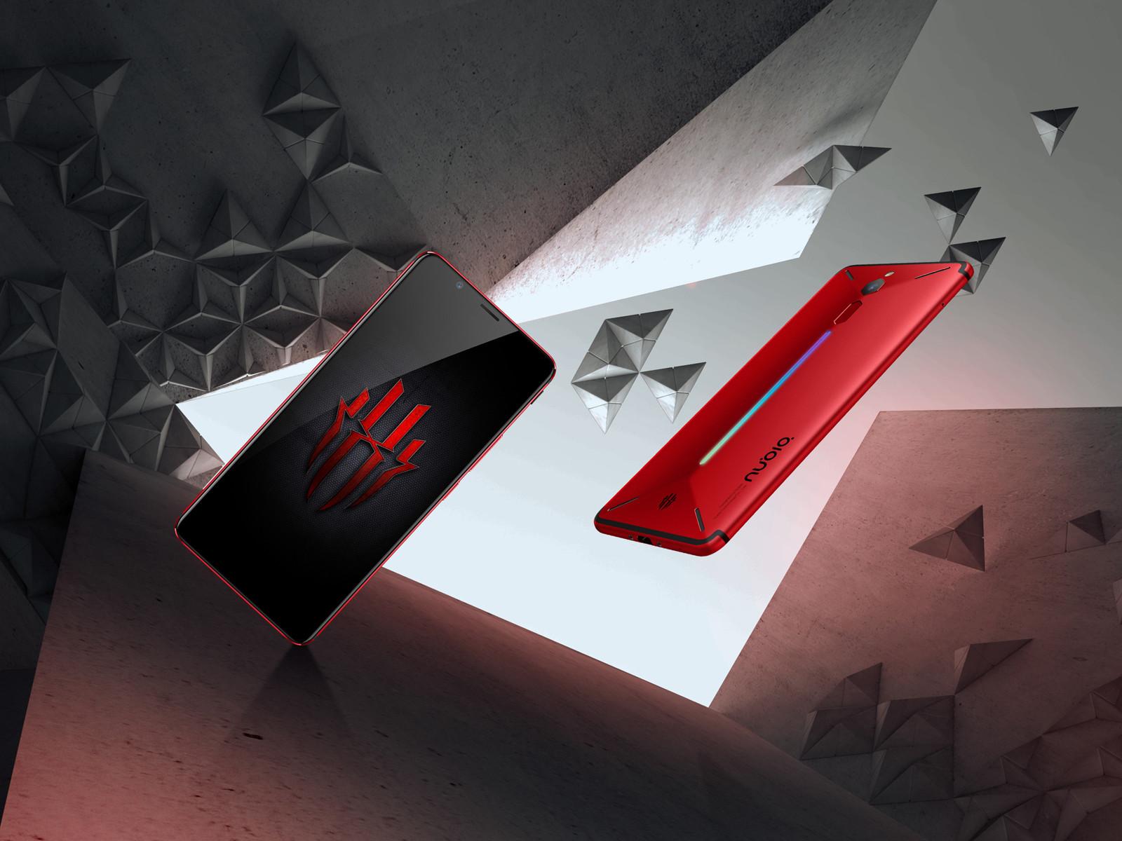 努比亚红魔电竞游戏手机(64GB)整体外观第2张