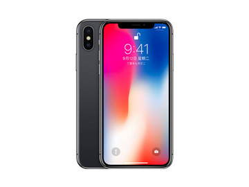 苹果iPhone X(256GB)灰色